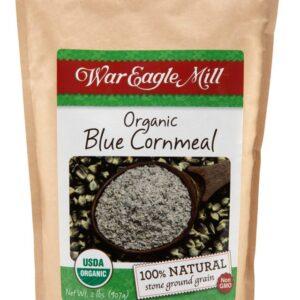 organic blue cornmeal