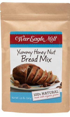 yummy honey nut bread mix