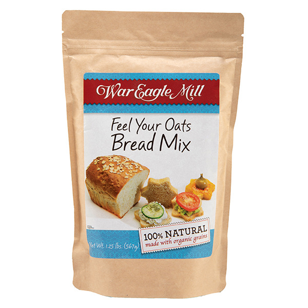 Organic Oat Bread Mix