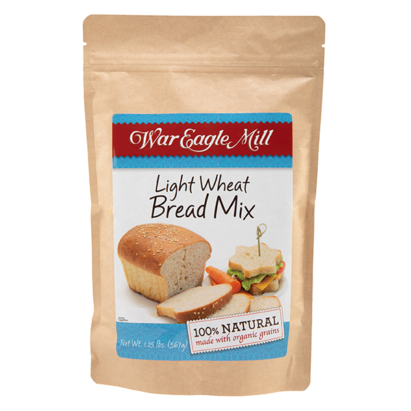 Organic Light Wheat Bread Mix
