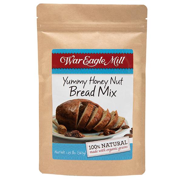 Organic Yummy Honey Nut Bread Mix