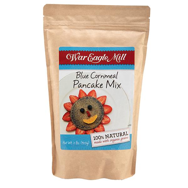Organic Blue Cornmeal Pancake Mix