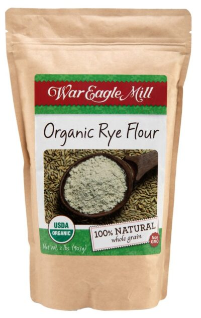 organic rye flour
