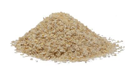 organic white corn grits