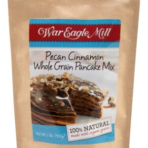 pecan cinnamon whole grain pancake mix