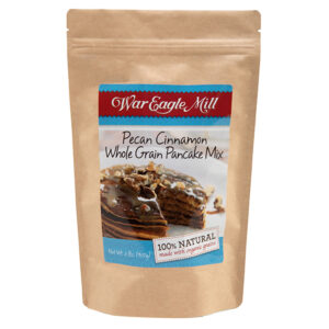 Pecan Cinnamon Whole Grain Pancakes