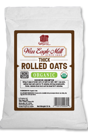 thick rolled oats organic