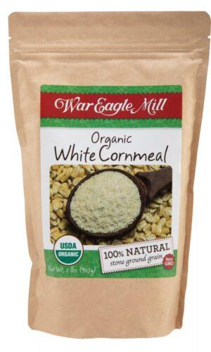 organic white cornmeal