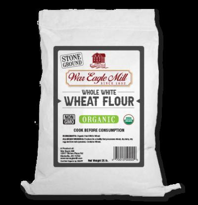 organic whole wheat white flour