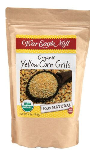 organic yellow corn grits