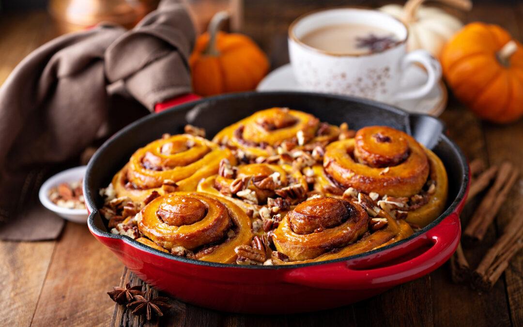 Pumpkin Pecan Swirls