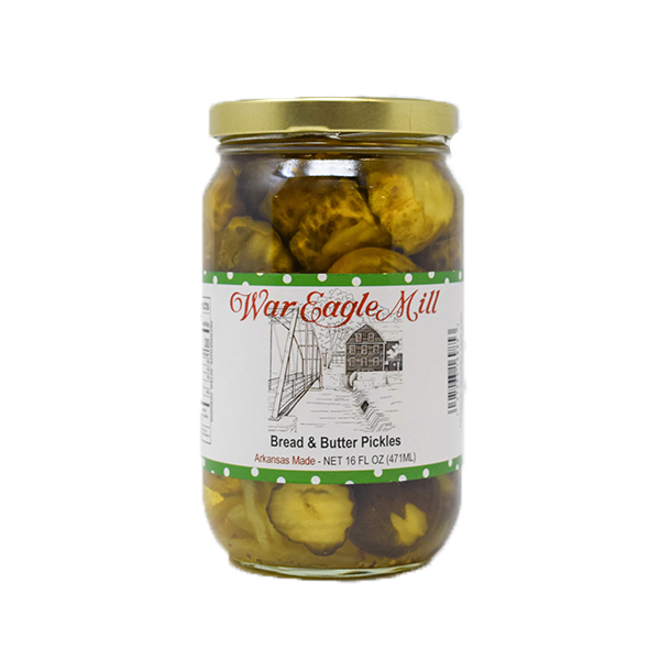 Bread and Butter Pickles Organic