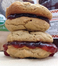 PB&J Oatmeal Cookie Sandwich
