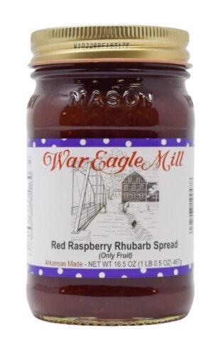Raspberry Rhubarb Spread