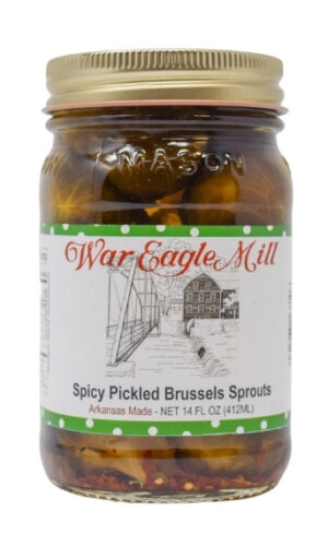Spicy Pickled Brussel Sprouts
