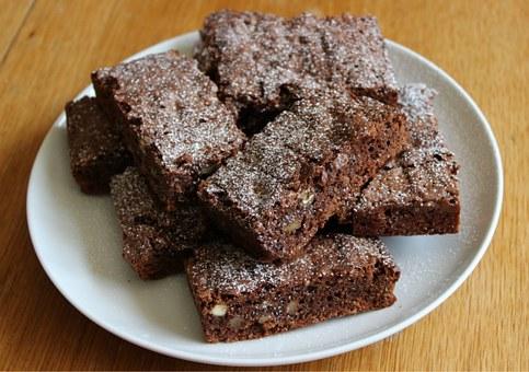 Chewy Honey Brownies