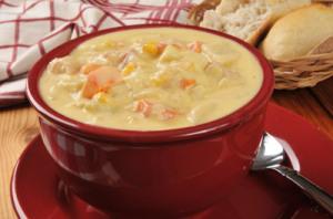 Corn & Sweet Potato Chowder