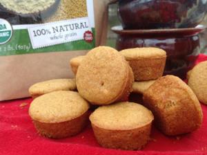 Eggnog Mini Muffins