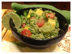 Mango Guacamole with Quinoa