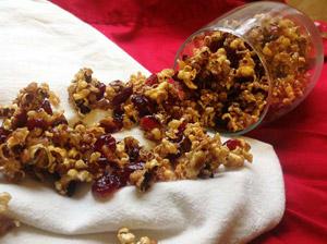 Pumpkin Cranberry & Pecan Popcorn