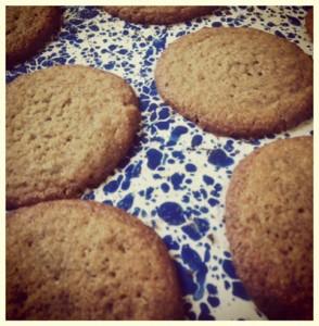 Peanut Butter Buckwheat Cookies