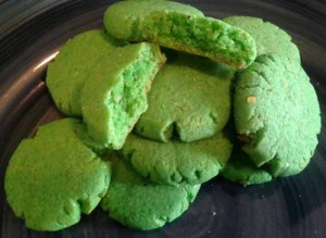 Poor Man's Shamrock Cookies