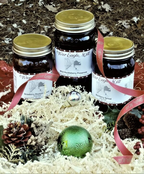 Gift set of preserves