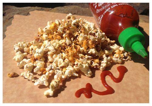 Sriracha & Lime Popcorn