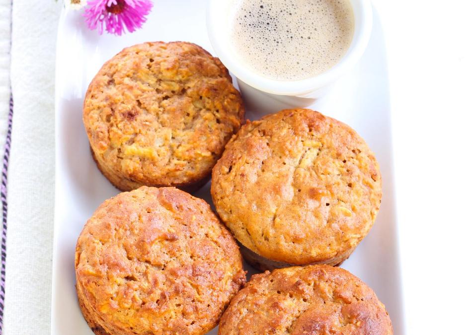 Oatmeal Corn Muffins