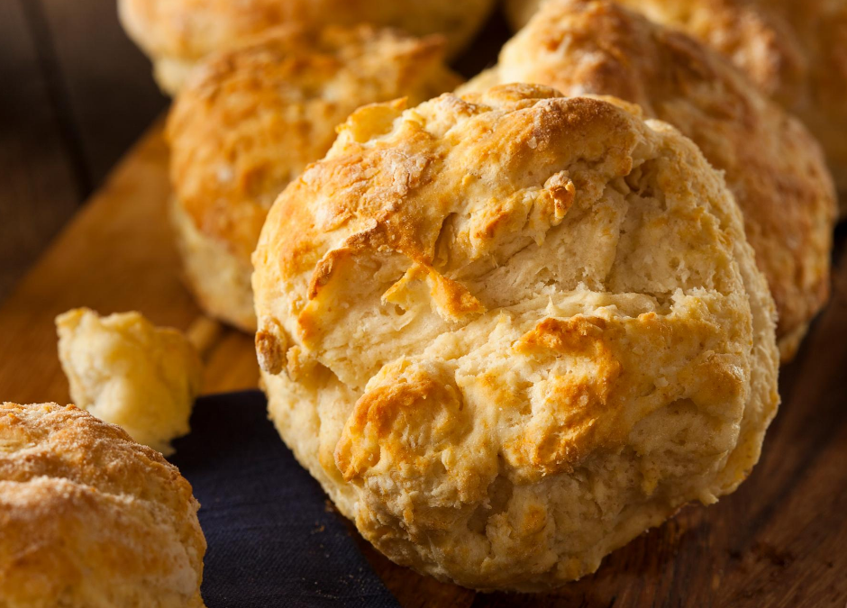 Non-Traditional Buttermilk Muffins