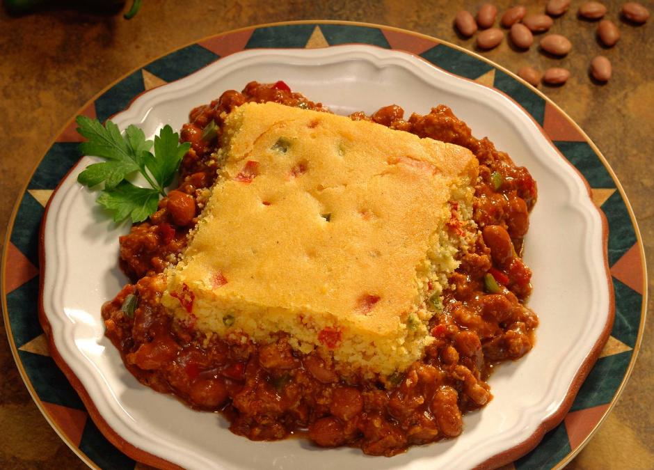 Cherokee Bean Bread