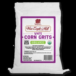 white corn grits