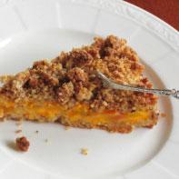 Peachy Keen Crumble Pie