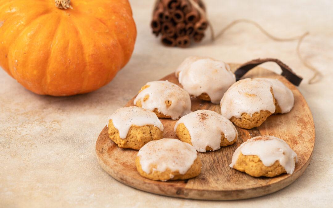 Frost on Pumpkin Cookies