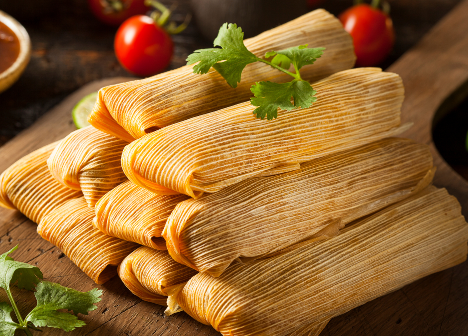 Turkey Tomatillo Tamales