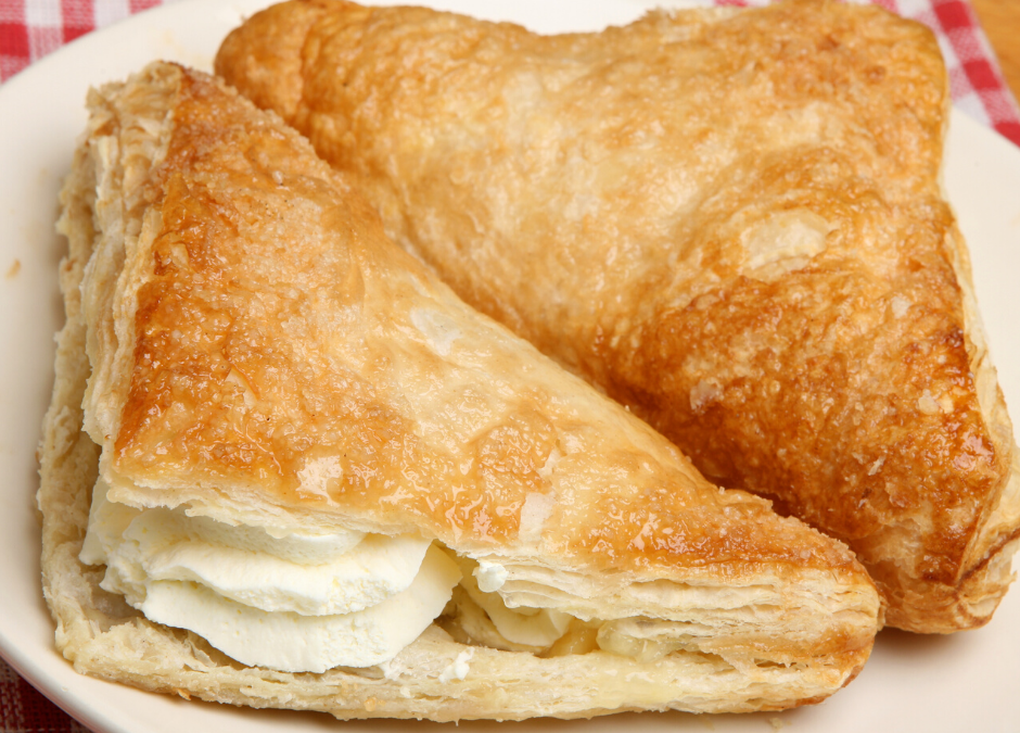 Whole Wheat Sour Cream Turnovers