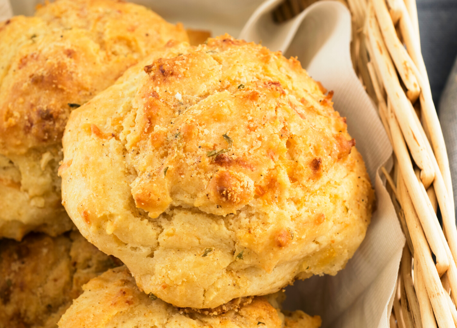 Blue Cheese-Herb Biscuits