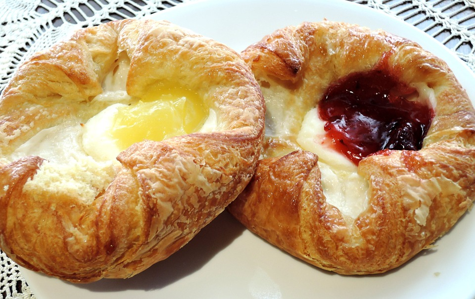 Cream Cheese Drop Danish