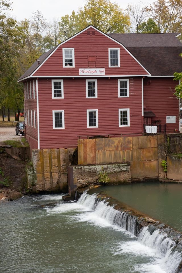 War Eagle Mill, home of the finished organic flours and grains