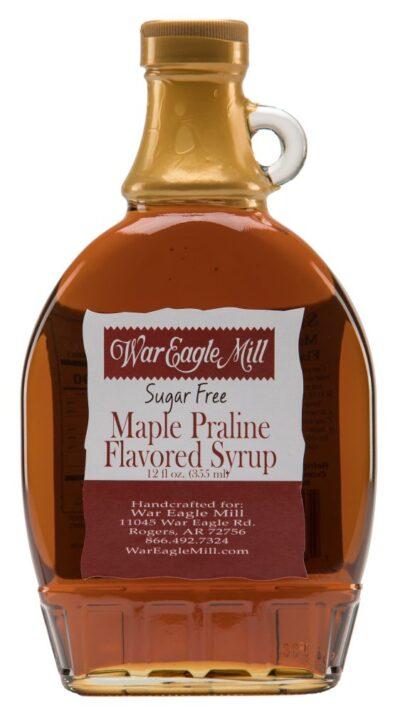 sugar free maple praline flavored syrup