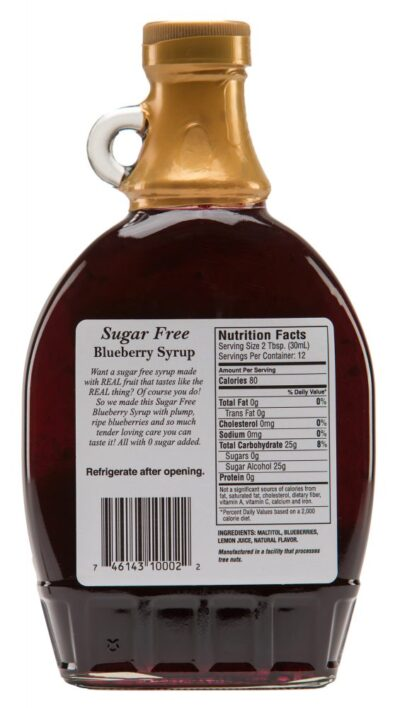 sugar free blackberry Syrup