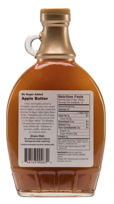 Apple Butter Label