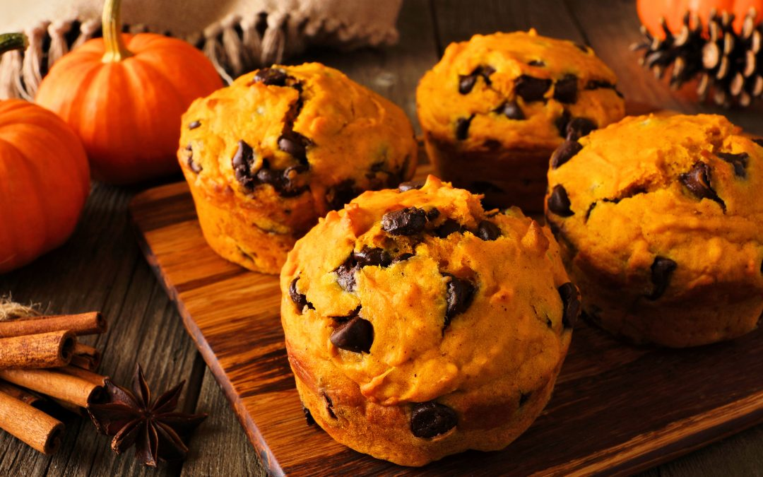 Grandma's Chocolate Chip Cake Muffins