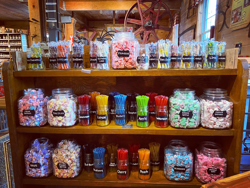 Candy at War Eagle Mill