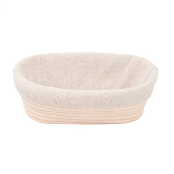 Oval banneton proofing basket