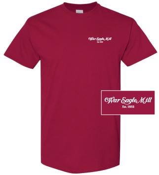 WEM red t-shirt