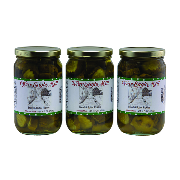 Organic Bread and Butter Pickles