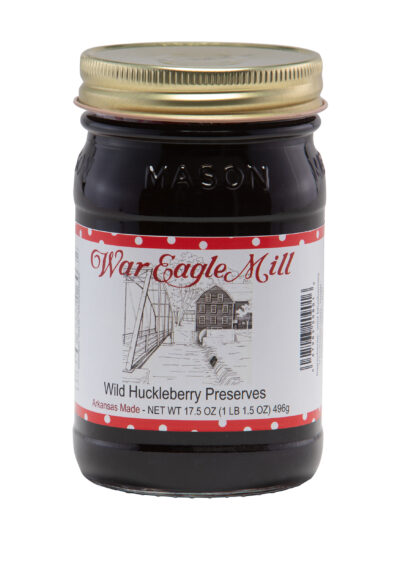 Wild Huckleberry Preserves
