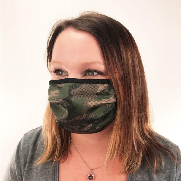 Camo Protective Face Mask