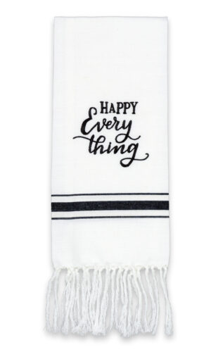 Happy Everything Artisan Home Towel